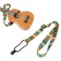 Ethnic Style Ukulele Strap Thermal Transfer Ribbon Belt Durable Guitar