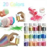 20 Color Set Mica Pigment Powder Perfect for Soap Cosmetics Resin Colorant Dye