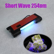 UV-C Shortwave 254nM Germicial Ultraviolet Lamp Fluorescer Phosphorescence Light
