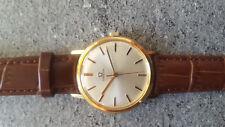 Exceptionnelle et rare montre suisse Omega plaquée or cal 286