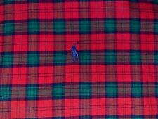Polo Ralph Lauren button down shirt mens XXL plaid red