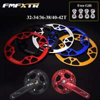 SNAIL MTB Bike 32-42T Narrow Wide Chainring 104bcd & Chain Guards fitChainwheel