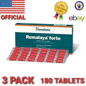 Himalaya RUMALAYA FORTE 3 pack 180 Tablets Treat joint pain , back pain relief