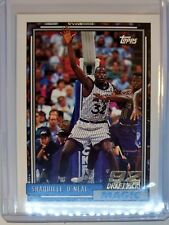1992-93 TOPPS Shaquille O'Neal RC ROOKIE CARD Magic Lakers LSU SHAQ #362