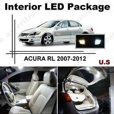 White LED Lights Interior Package Kit for ACURA RL 2007-2012 ( 11 Pcs )
