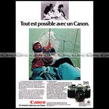 CANON AT-1 (AT1) APPAREIL PHOTO REFLEX 24X36  1977 - Pub / Publicité / Ad #A1511