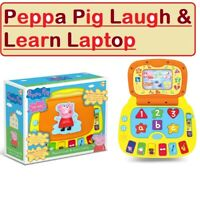 Peppa Pig Toy Laugh & Learn Laptop Children Electronic Interactive Computer