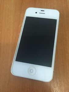 Apple iPhone 4s - 16GB - White (Unlocked). Without Box