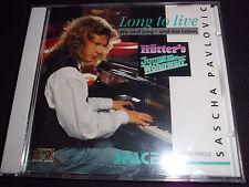 SASCHA PAVLOVIC Long To Live Wir sind jung - sind das Leben Maxi CD 5 Tracks RAR
