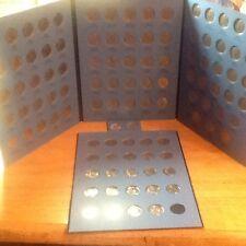 Complete Set Au/Bu/Ms Roosevelt Dimes 1964 - 2017 in Coin Folders;Silver/Clad