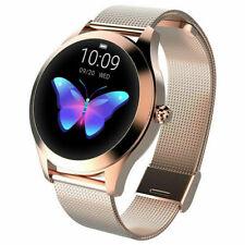 KW10 Women Smart Watch Bracelet Heart Rate Monitor Fitness Tracker Waterproof