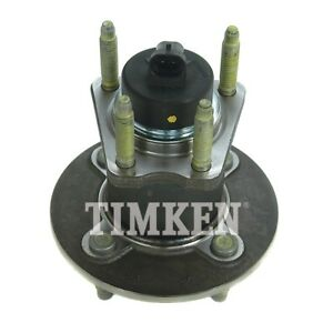 Wheel Bearing and Hub Assembly-FWD, Rear Drum, 4-Wheel ABS Rear Timken HA590066