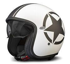 Premier Vintage Star Helm 8 BM  Gr. L = 59/60- weiss