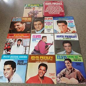 Elvis Presley box set of 45rpm vinyl records in ex unplayed condition