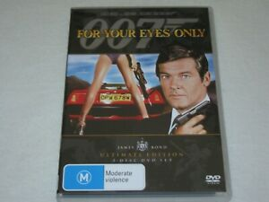 For Your Eyes Only - James Bond - 2 Disc - Brand New & Sealed - Region 4 - DVD