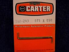 NOS 16P-243 CARTER CARBURETOR METERING RODS AFB/AVS 2  STEP STYLE .071X.50