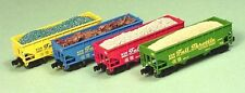 Z Scale FULL THROTTLE ANNIVERSARY Hoppers 4-pk. FT NIB