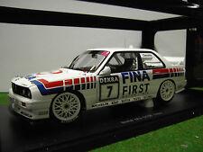 BMW  M3 E30 DTM FINA CECOTTO 1992 1/18 Autoart voiture minature collection 89246