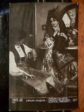 cpa illustrateur fantaisie salon de paris 1912 carlos vasquez present de noce