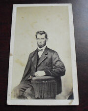 Antique Civil War Era CDV Photograph - Abraham Lincoln