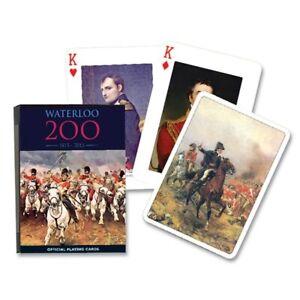 Waterloo 200 1815-2015 set of 52 playing cards + jokers (gib)