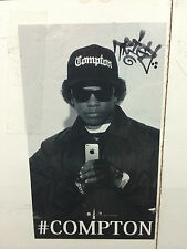 Black & White Compton Los Angeles Flat Bill Snapback Baseball Cap Caps Hat Hats