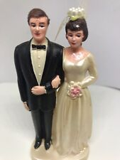 Vintage Wedding Cake Topper Couple