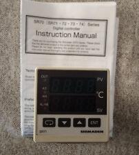 1PCS - SHIMADEN SR71-8Y1-0C - Temperature Controller / Used