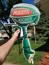 New listing Rare Alaskan Brewing Co. Kicker Ipa Metal Sign Outboard Boat Motor Juneau Alaska