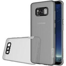 Cover Gel Slim Nillkin Nature per Samsung Galaxy S8 - Grigio traslucido