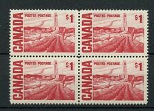 #465b $1.00 Centennial block of four low price Canada mint