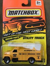 Matchbox MB33 Telephone Utility Truck Made in Thailand W//Box  33 J 4B