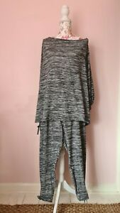 Yours Grey Marl Tracksuit/loungewear - Size 22/24