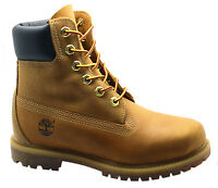 Timberland AF Full Leather 6 Inch Premium Womens Boots Lace Wheat 8552B U38
