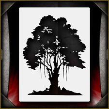 Oak Tree 1 -  Airbrush Stencil Template Airsick