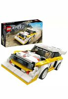 LEGO 76897 Speed Champions Audi Sport Quattro S1 Car Set New In Box Great Gift