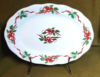 "Vintage Southington by Baum - ""Victorian Holiday"" Serving Platter Christmas"