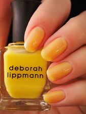 NEW! Deborah Lippmann YELLOW BRICK ROAD Polish Lacquer - full size mellow yellow