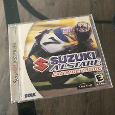 Suzuki Alstare Extreme racing Sega Dreamcast CD w/ jewel case & booklet