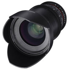 Samyang 35mm T1.5 VDSLRII Cine Lens for Canon EF Mount #SYDS35M-C BRAND NEW
