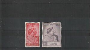 1948 PITCAIRN ISLANDS SILVER WEDDING    SUPERB MNH/UNMOUNTED