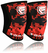 EMRAH Neoprene Brace Knee Support MMA Pad Guard Protector GEL Sport Work UFC Greyxseries XL