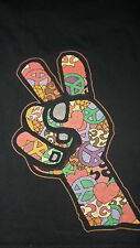 Hippie 60's Style Ben & Jerry's Ice Cream Staff T-Shirt Large mens womens