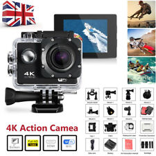 Ultra HD 4K Sports Camera DVR WiFi Cam Helmet 30m Waterproof DV Action Camcorder