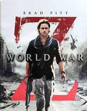 New Sealed World War Z Steelbook Blu-ray Disc