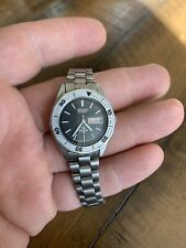 Vintage Ladies Seiko SQ Sports 100 Quartz 8523 0180 Diver