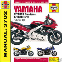 Yamaha YZF600 Thundercat & FZS600 Fazer 1996-2003 Haynes Manual 3702