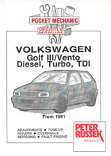 Workshop Manual VW Golf Mk3 Vento Diesel Turbo TDI Service Repair 1Y 1Z AAZ