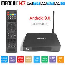 MECOOL K7 4K 3D 4G+64G Smart Android 9.0 TV BOX S905X2 QuadCore 5G WiFi BT Media