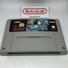 4 in 1 : Super Turrican, Super Pang, Micro Machines, Yoshi's Cookie (Snes)